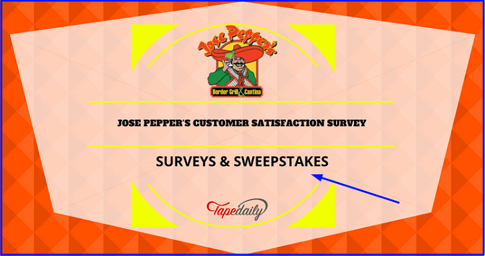 Jose Pepper's Guest Satisfaction Survey form