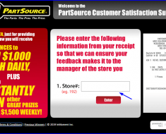 www.tellpartsource.com – PartSource Customer Satisfaction Survey (Win Cash)