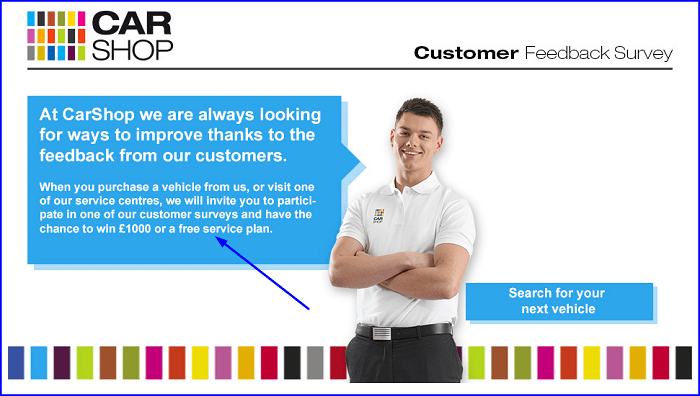 CarShop Customer Satisfaction survey form