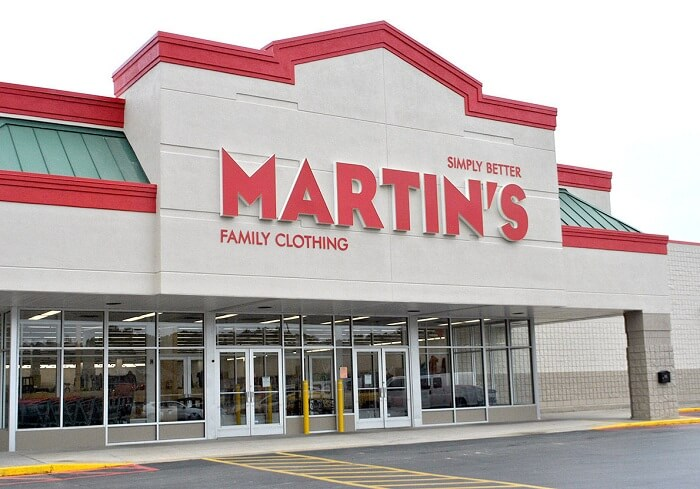Martin's Family Clothing Survey