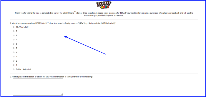 M and M World Guest Experience Survey.form