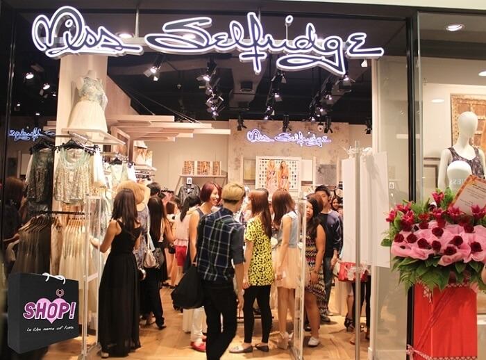 Miss Selfridge Store Feedback Survey